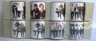 One Direction Pack 8 Mini Tazas
