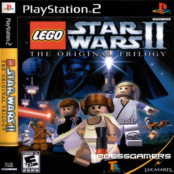 Lego Star Wars 2 The Original Trilogy Ps2 Desbloqueado Patch