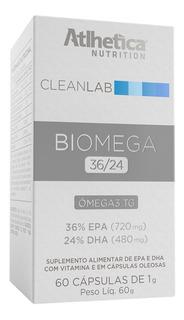 Cleanlab Biomega Tg 36/24 (60 Softgels) Atlhetica