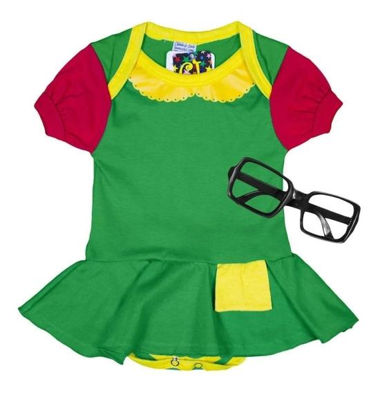 Body Infantil Vestido Xiquinha Bcx01
