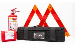 Kit Emergencia Vehícular Envío Gratis - Elegante - Compacto