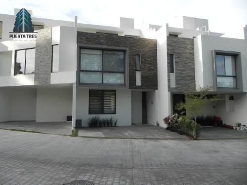 Hermosa Casa De 3 Niveles En Coto Boskia Otero