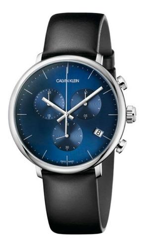 Relógio Masculino Calvin Klein High Noon Preto K8m271cn