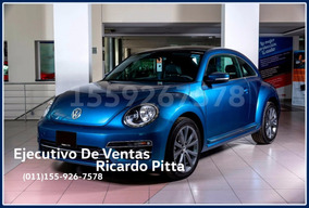Volkswagen Beetle Vw Desing 1.4tsi Dsg 0km 2017 Alra Rojo