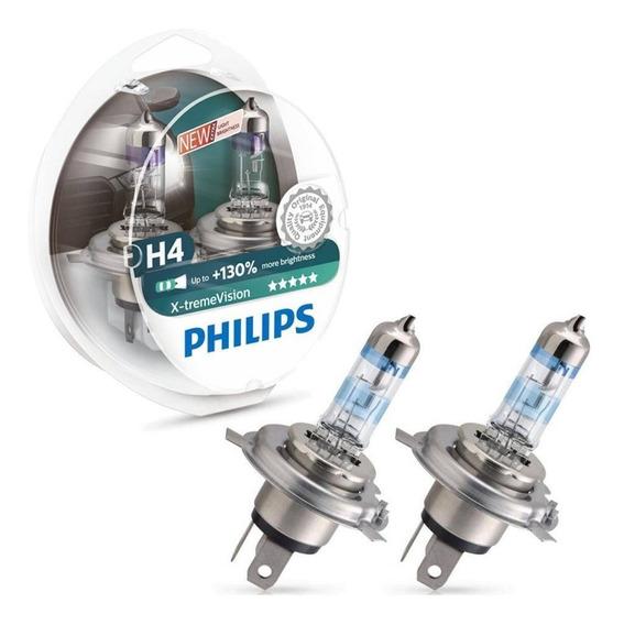 Lâmpadas Philips X-treme Vision H4 Classic 2002