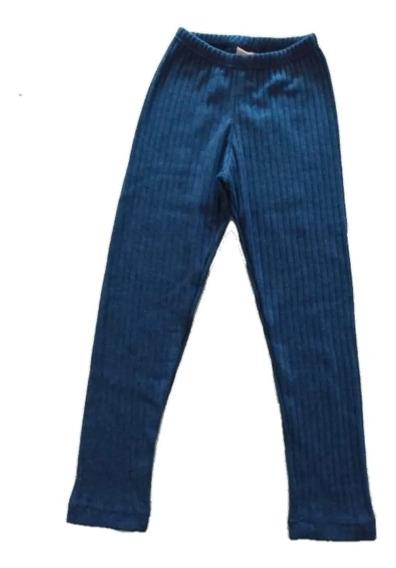 Suaves Y Abrigadas Calzas De Lanilla, Talle 2a 16. 4 Colores