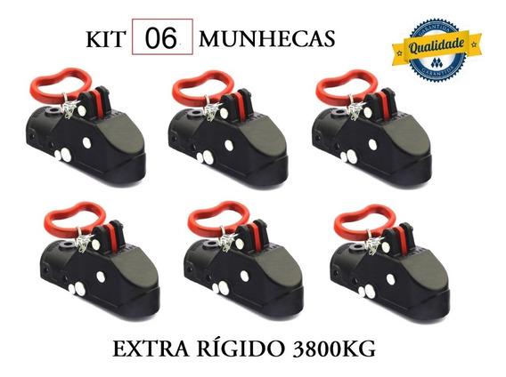 Kit 06 Munheca 3800kg Engate Carretinha Reboque Promoção