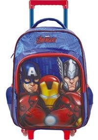 Mala Com Rodas Infantil 16 Avengers Ultimate - Xeryus