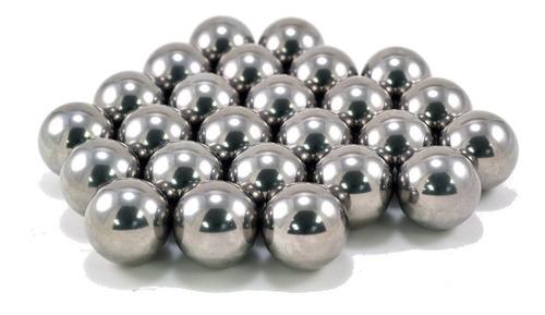 Esfera Aço Cromo 1/4 Ou 6,35 Mm - Alta Qualidade 100 Peças | Mercado Livre
