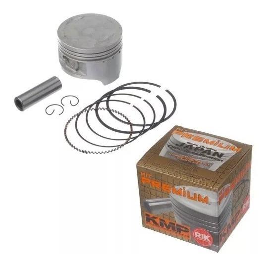Kit Pistao Kmp Premium Anel Rik Honda Cbx Nx Xr 200 3mm