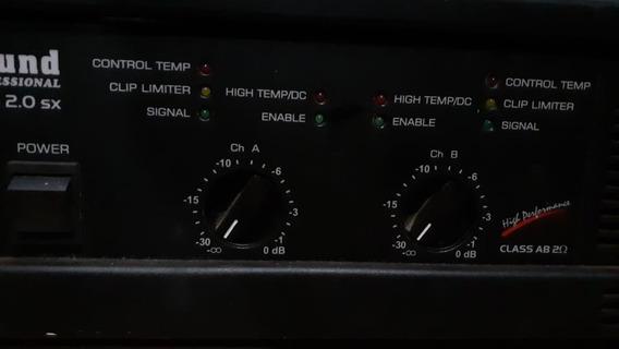 Potência Hot Sound 2.0 Sx