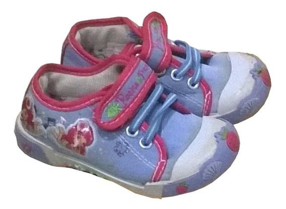 Zapatos Slip On Rosita Fresita Talla 25 Celeste S3