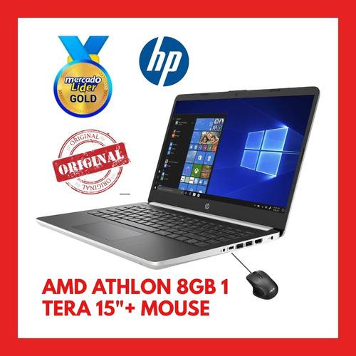 Portátil Hp Amd Athlon 4/8gb Ram , 1 Tera ,15 , New+ Mouse