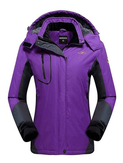 Chaqueta Chamarra Frió Extremo Dama Impermeable Merence
