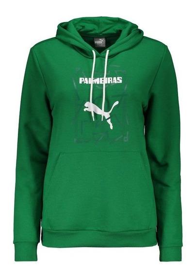 Moletom Puma Palmeiras Graphic Hoody Feminina Verde
