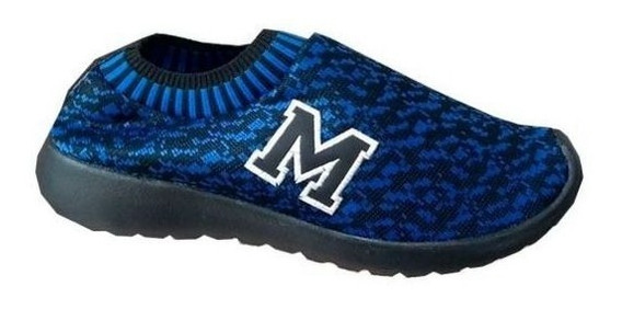 Tenis Marathon Anfibio Confort Neoprene Azul/pto