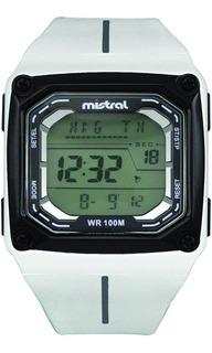Reloj Deportivo Mistral, Apto Para La Práctica De Natación.