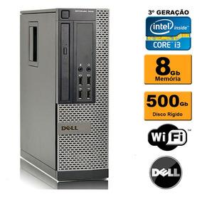 Pc Dell Mini Optiplex 7010 Sff I3 3ª 8gb Hd 500gb Rw Wi-fi