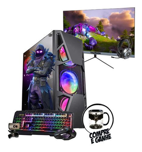Pc Gamer Completo Raven I5 4º Gtx1650 8gb Ssd480gb Mon.24