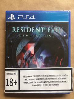 Resident Evil Revelations Ps4 ( Sellado ) Envíos Grátis