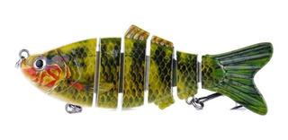 Isca Artificial 6 Articulações Lambari 10cm Para Predadores