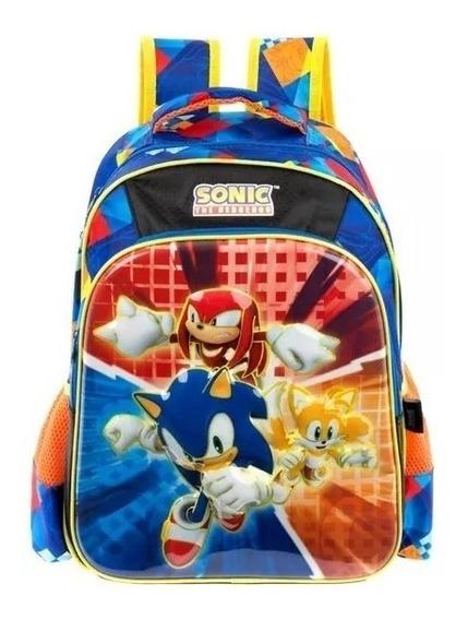 Mochila Sonic Primaria Backpack Tz602