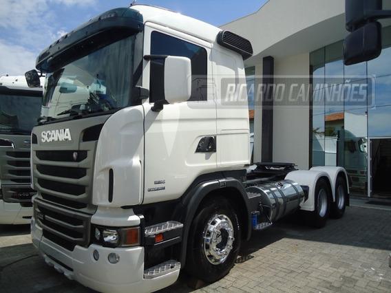 Scania G400 6x2 Completo Com Ar Digital,unico Dono