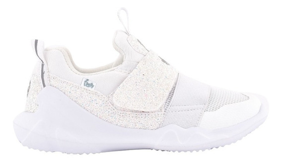 Zapatillas Flexy Neoprene Livianas Blanco- Footy Oficial