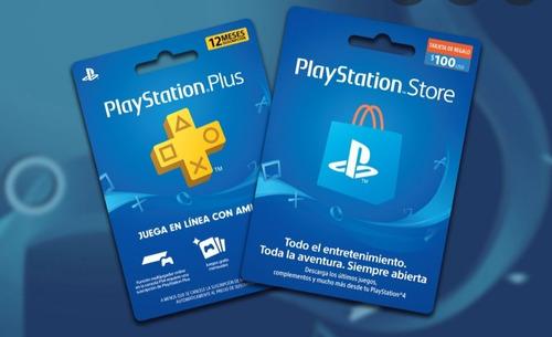 Tarjetas De Regalo Playstation Y Google Play