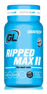 Quemador Ripped Max X 120 Gentech Sin Tacc