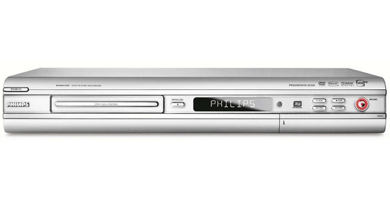 Gravador De Dvd Philips Dvdr 3355