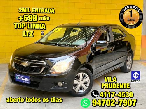 Chevrolet Cobalt Ltz Top De Linha Metro Vila Prudente Lindo