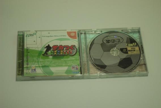 2 Jogos Soccer Club Sakatsuku Tokudaigou Dreamcast Japones