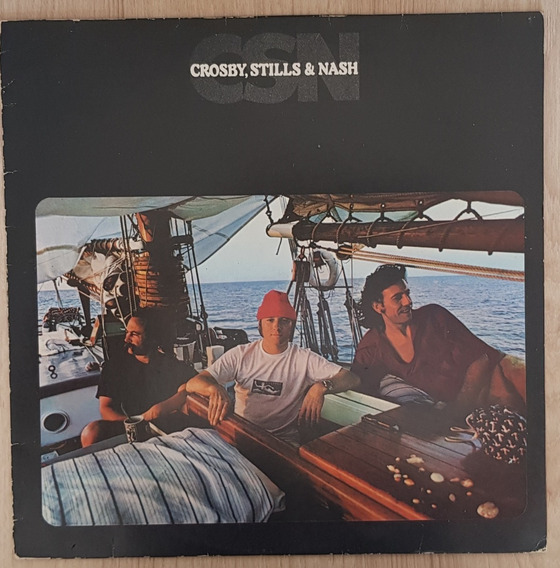 Lp Vinil - Crosby, Stills & Nash - Csn - Nacional 1979