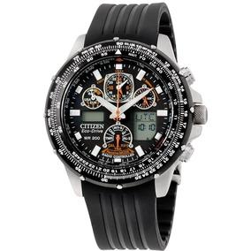 Relógio Citizen Skyhawk Rádiocontrol Tz10039j / Jy0001-00e