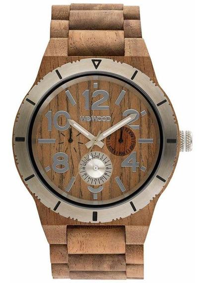 Relógio De Madeira Wewood Kardo Mb - Wwkr09