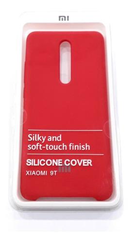 Forro Case Estuche Celular Xiaomi Mi 9t Fucsia Tienda Fisica