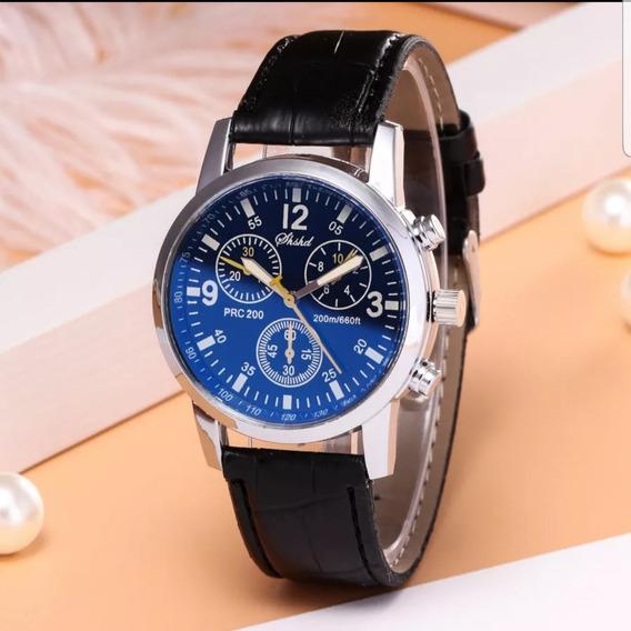 Relógio Masculino/feminino Casual Blue Reay