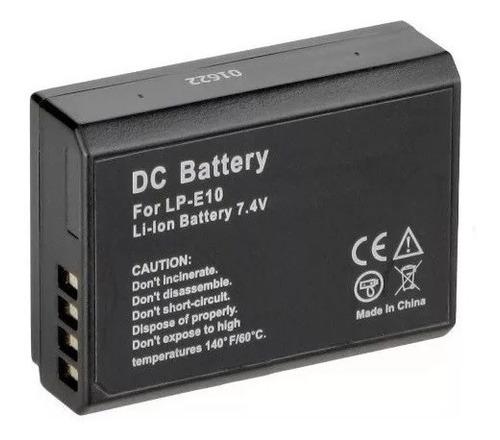 Imagem 1 de 2 de Bateria Para Maquina Digital Canon Rebel T3 T4 1200d Lpe10