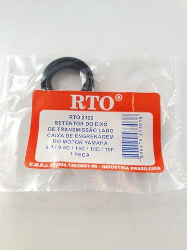 Retentor Eixo Transmissão Yamaha 9.9 / 15 Hp