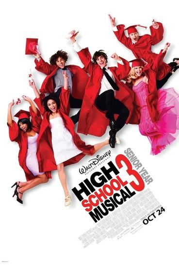 Poster Original Cine High School Musical 3 - La Graduación