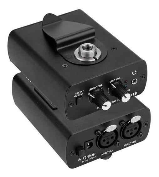 Anleon S1 Sistema De Monitor Personal Para Auriculares Xlr