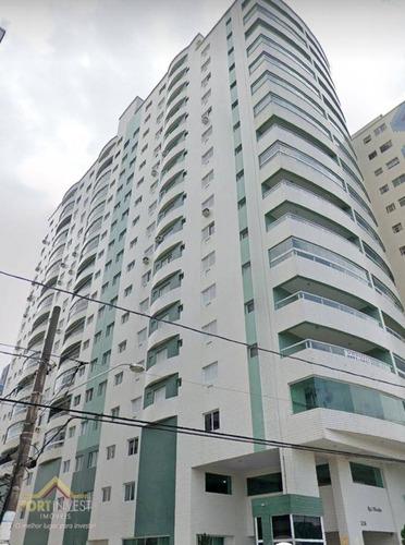 Imagem 1 de 19 de Apartamento Com 4 Dormitórios À Venda, 130 M² Por R$ 745.000,00 - Vila Guilhermina - Praia Grande/sp - Ap2122