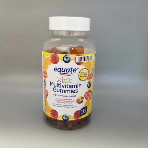 Vitaminas Para Niños Multivitaminas Gummies 190