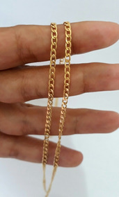 Corrente Grumet Elos Ouro 18k 60cmm