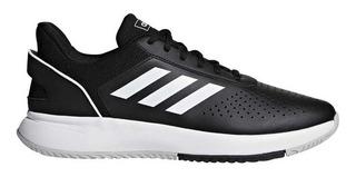 Zapatillas adidas Courtsmash Negro/blanco - Corner Deportes