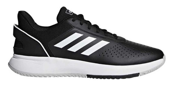 Zapatillas adidas Courtsmash Negro/blanco - Corner Deportes