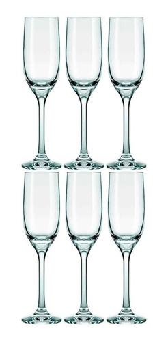 Imagen 1 de 4 de Copa Champagne Nadir 220 Ml Emperatriz X6 Unid.