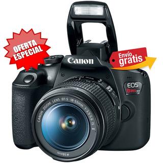 Camara Canon Profesional T7 Lente 18-55mm 24,1 Mpx Wifi 2019