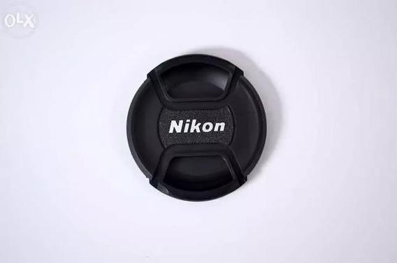 Tampa Para Câmera Nikon Lc-67 67mm + Original + Nf Promoção